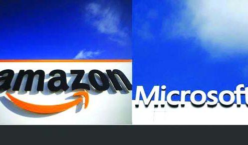 درگیری آمازون و مایکروسافت